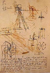 Studies for a windmill.  c.43v