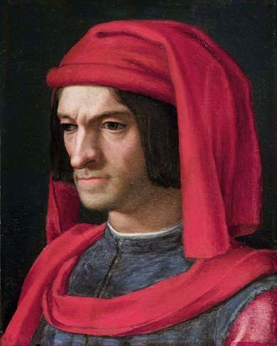 Lorenzo de' Medici - Portrait by: Agnolo Bronzino