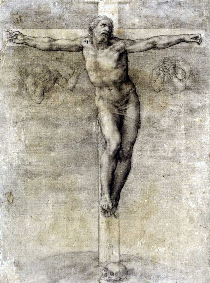 Michelangelo Buonarroti  Christ on the Cross  1541