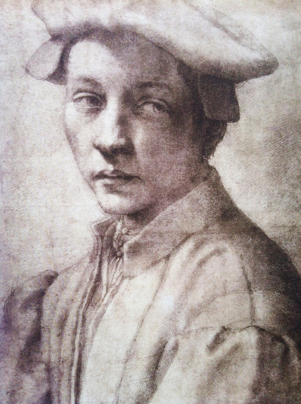 Michelangelo Buonarroti - Portrait of Andrea Quaratesi, ca 1532 British Museum, London
