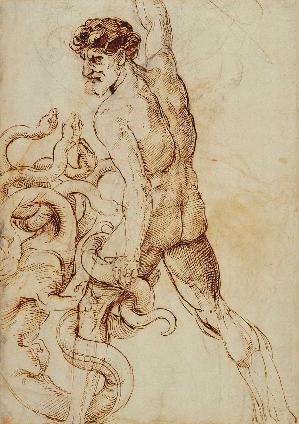 Hercules and the Hydra  c.1508