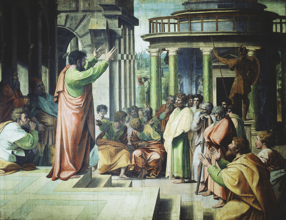 Raphael-Urbino---Painting---St Paul Preaching at Athens.jpg