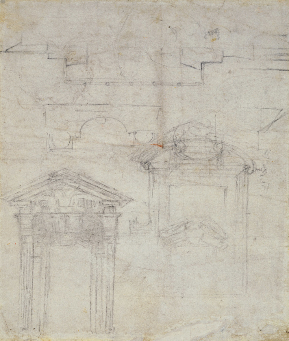 Michelangelo-Buonarroti--Drawing---Arch - verso.jpg