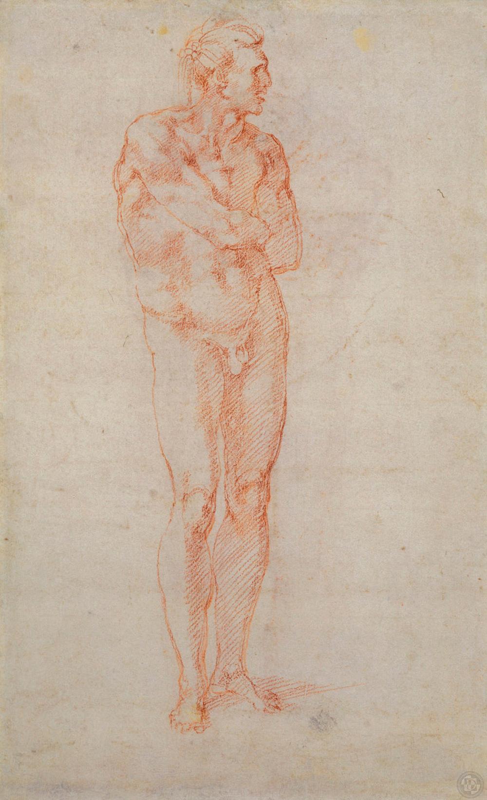 Michelangelo-Buonarroti--Drawing---Nude-Proportions---verso.jpg