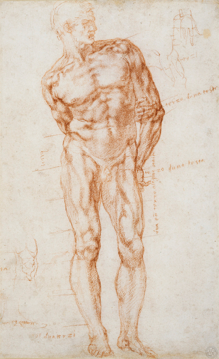 Michelangelo Drawings — Discovering da Vinci: