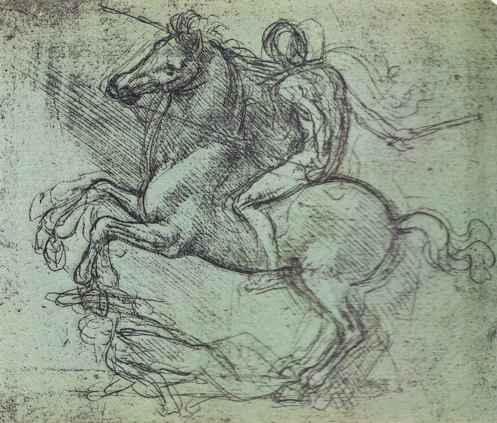 Leonardo da Vinci - Drawings - Animals - Horses - 04.jpg