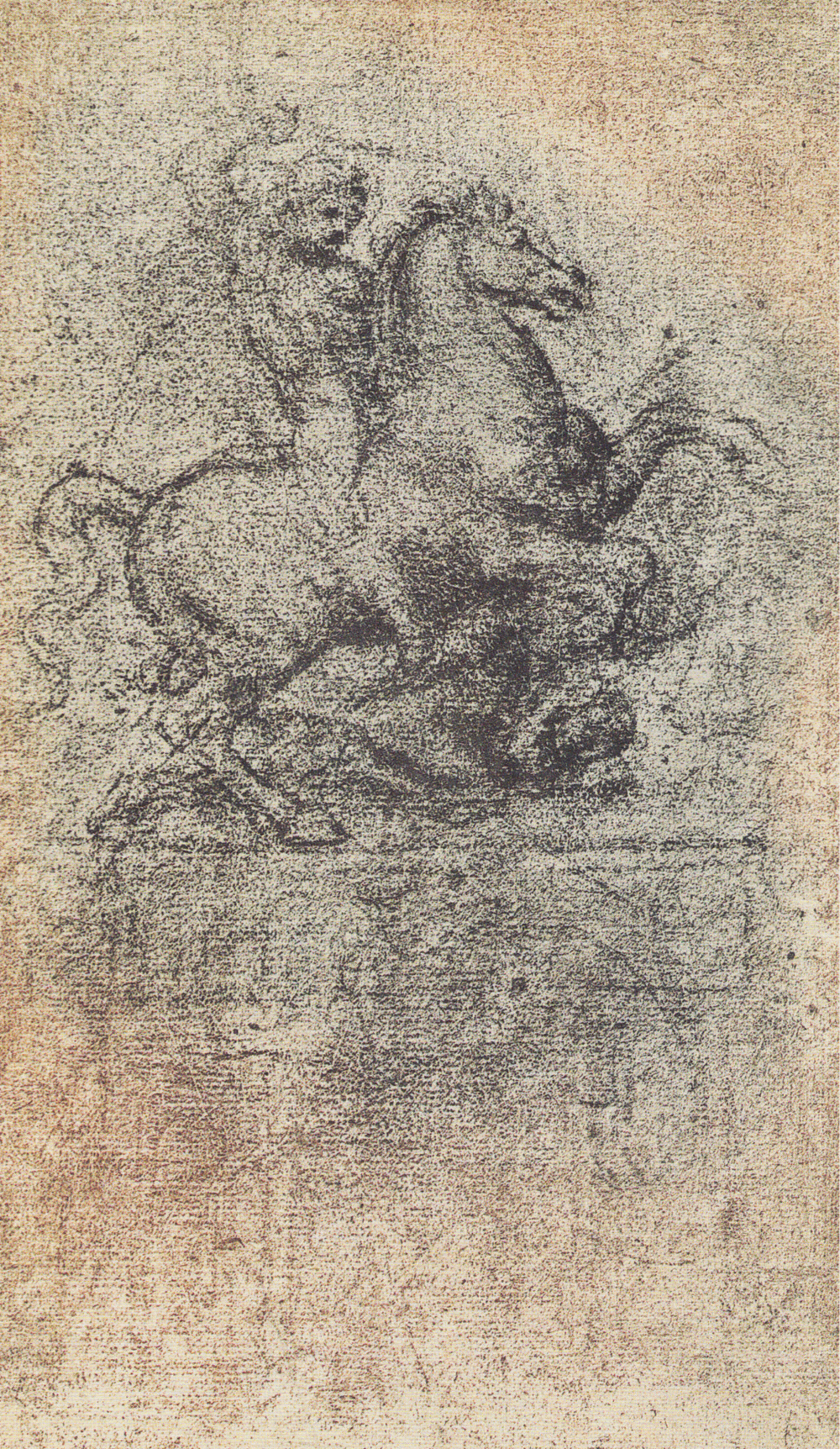 Leonardo da Vinci - Drawings - Animals - Horses - 03.jpg