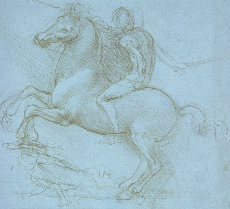 Leonardo-da-Vinci---Drawings---Animals---Horses--blue sforza.jpg