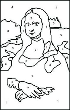 the changes from the isleworth to the prado is more of a revolution than an evolution the differences between the prado to the louvre is much different - Mona Lisa Coloring Page Printable