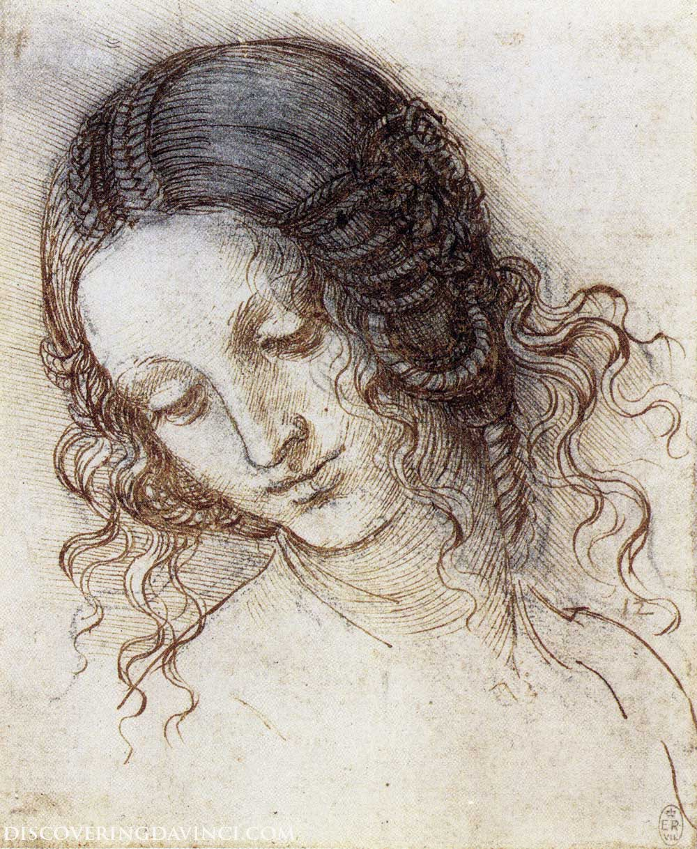 Sketch of A Woman's Face