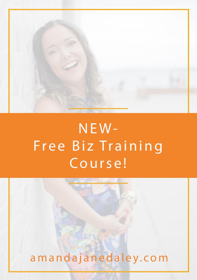 New Free Biz Training Course