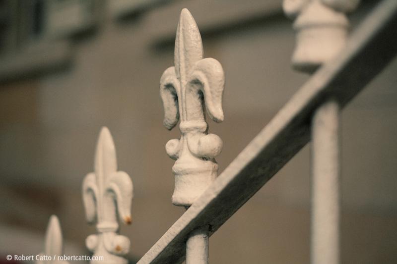 Fence detail, Sydney