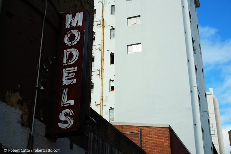 Models in King's Cross, Sydney