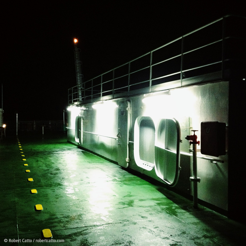 Night Crossing on the Interislander