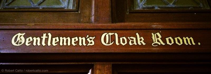 Gentlemen's Cloak Room, Sydney