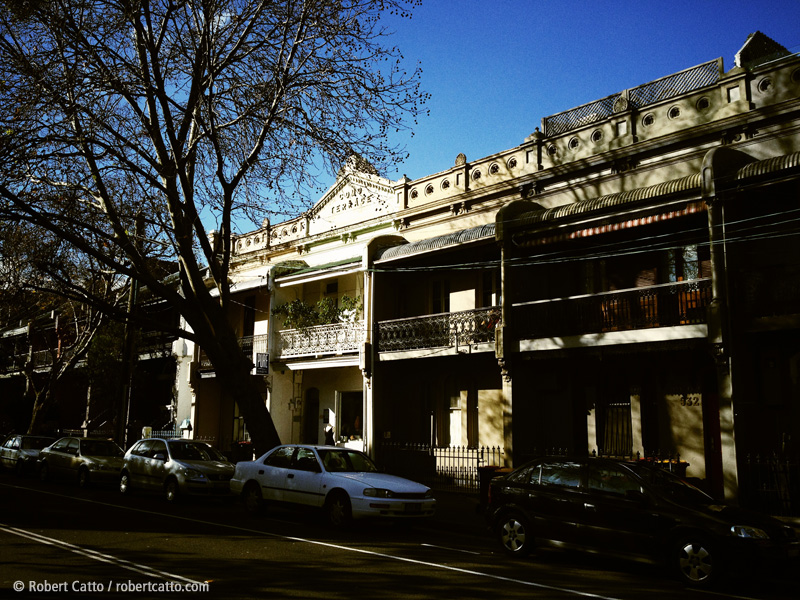 Crown Street Terraces, Surry Hills