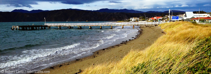 Seatoun Wharf, Wellington