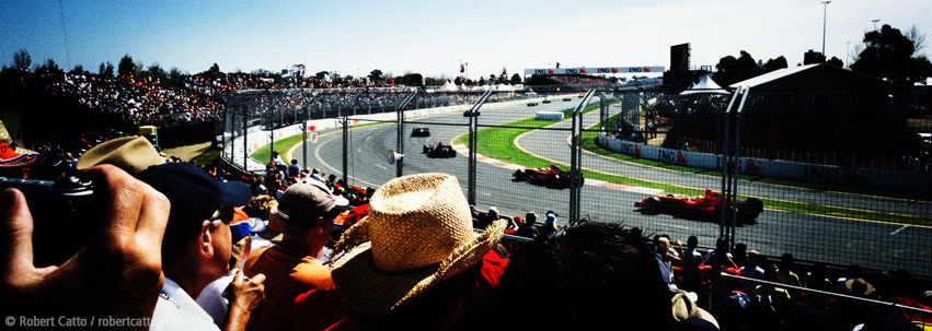Albert Park, Australian Grand Prix in Melbourne