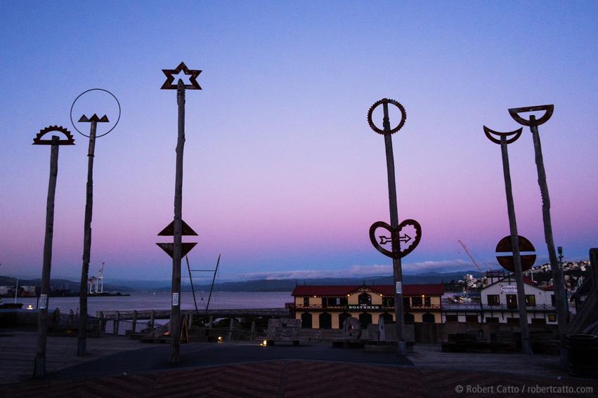 Evening Light, Wellington Waterfront