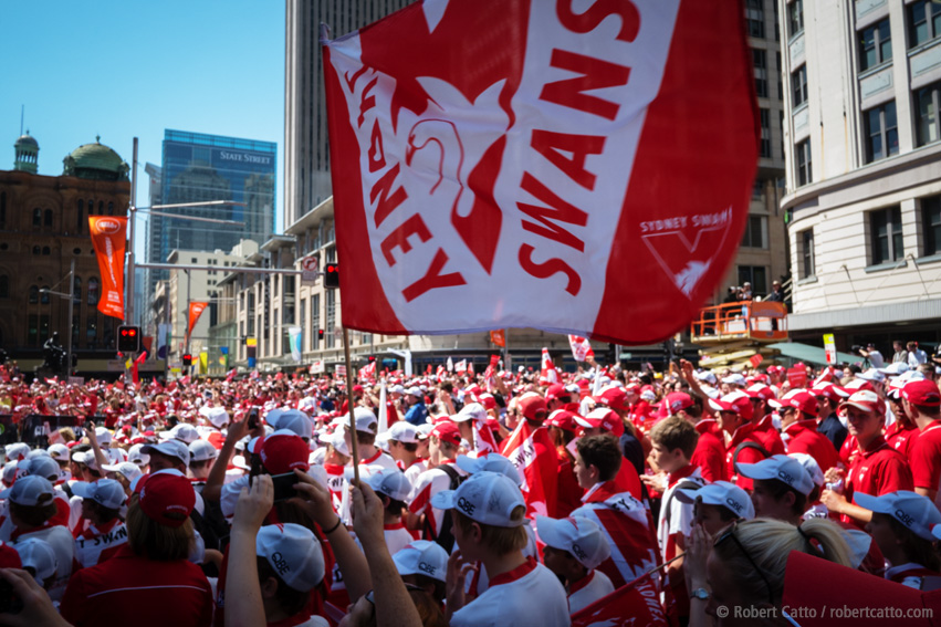 Sydney Swans Victory Parade