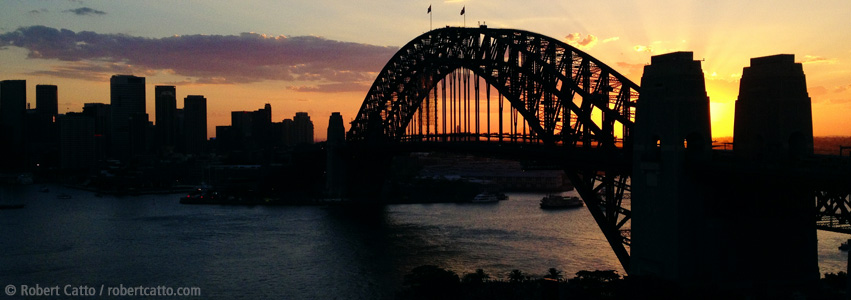 Last Sunset, Harbour Bridge