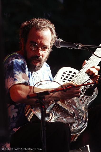 Bob Brozman at WOMAD Taranaki, 2003