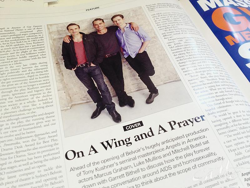 Angels in SX Magazine