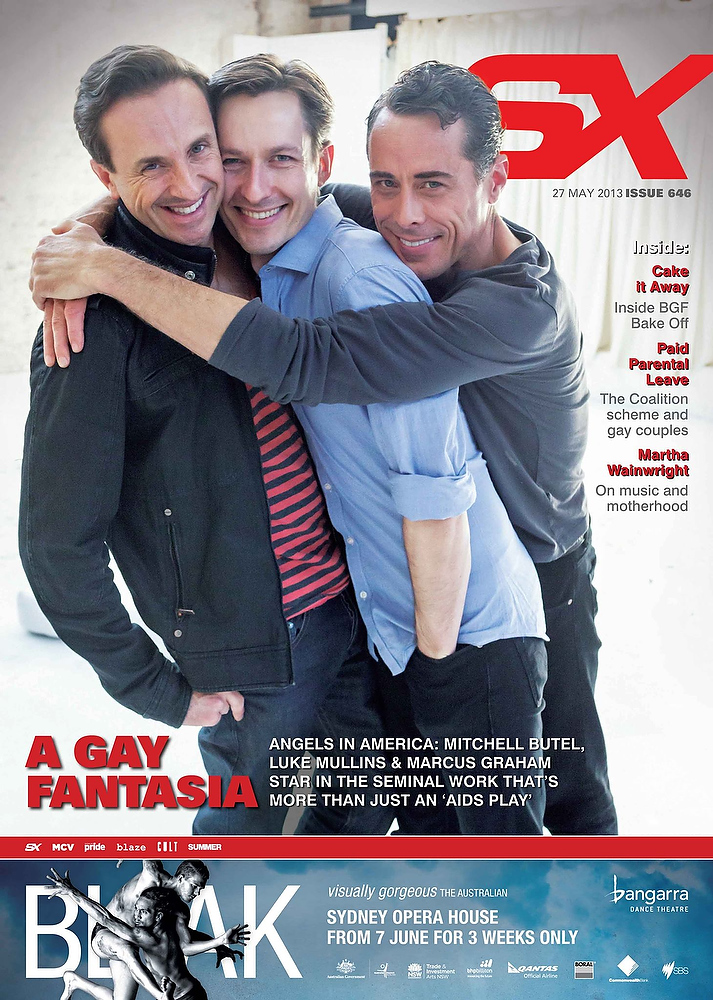 SX Magazine Cover Angels In America - 27 May 2013