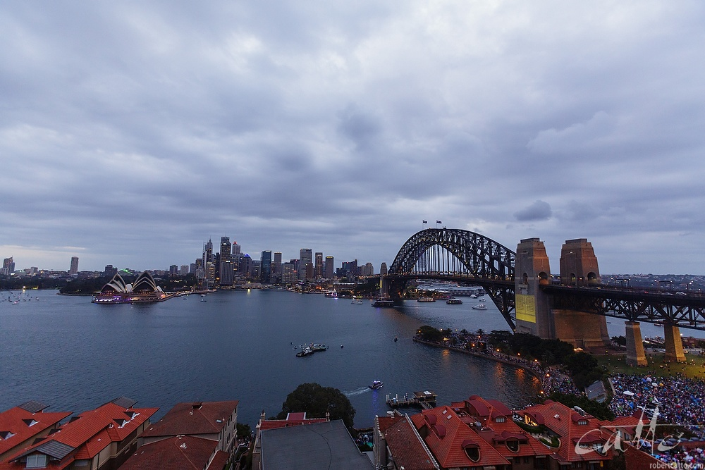 Sydney Harbour Bridge from Kirribilli
