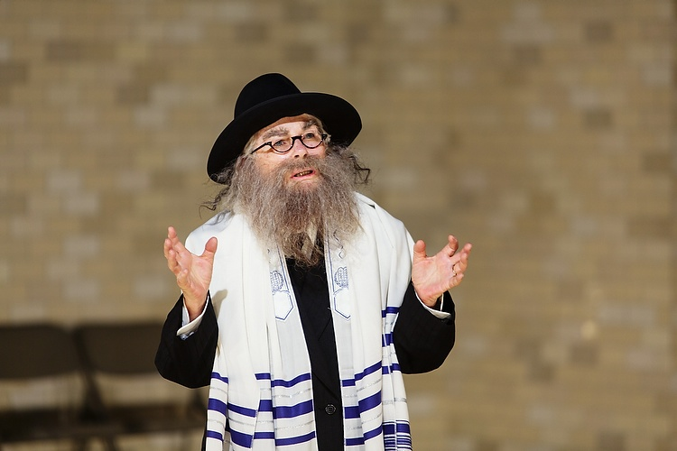 Robyn Nevin as the Rabbi