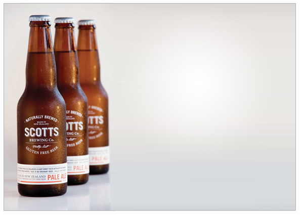 Hmm…y'know, I might have a beer later.  What's that I hear you cry?   'No, Rob, don't - the beer, he has the glutens in him!  He'll keeell you!'     Ah - well, normally that  would  be true, but the good folks at  Scotts Brewing Co  in Auckland, it's not  always  the case…mmm, beer!