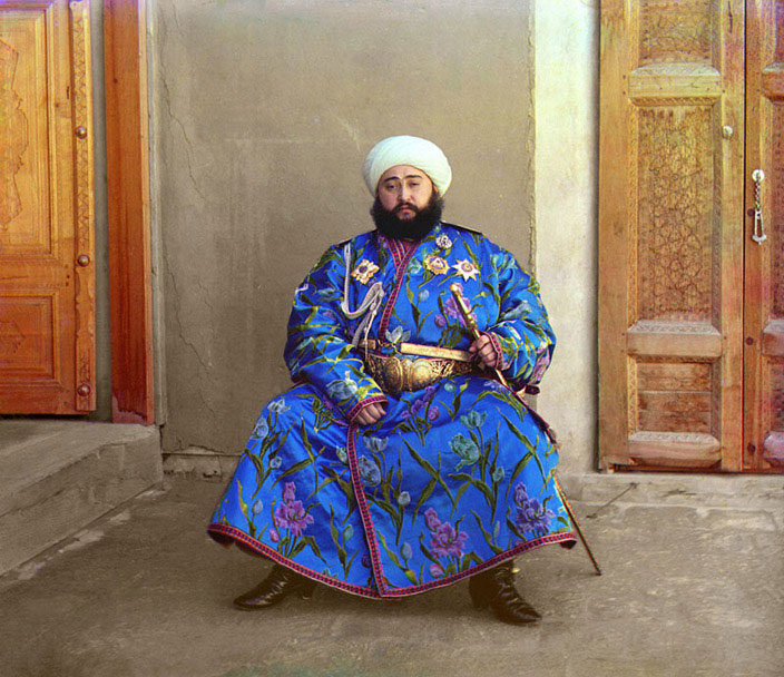 The Empire That Was Russia - incredible, brilliant colour images, from 100 years ago!  Check out the Emir of Bukhara if you don't believe me…this was taken in 1911!