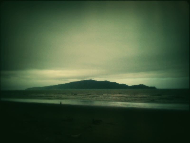 Kapiti Island this morning.