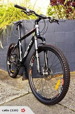 Just on the off chance one of you photographist / blogger types is looking for  a mountain bike …