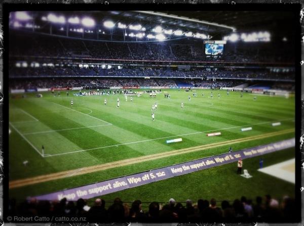 Melbourne Victory v. Sydney FC, Etihad Stadium, Melbourne.