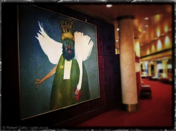 The Chicken King; at the Victorian Arts Centre, Melbourne.