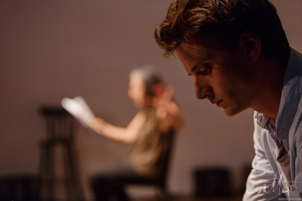 Camilla Ah Kin and Tom Conroy in Elias Jamieson Brown's MISSY AND HER MASTER.