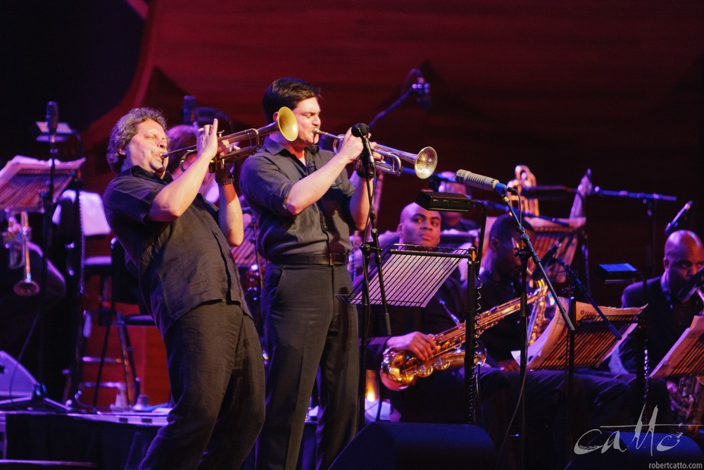 Mingus Big Band at the Wellington Jazz Festival, 2009.