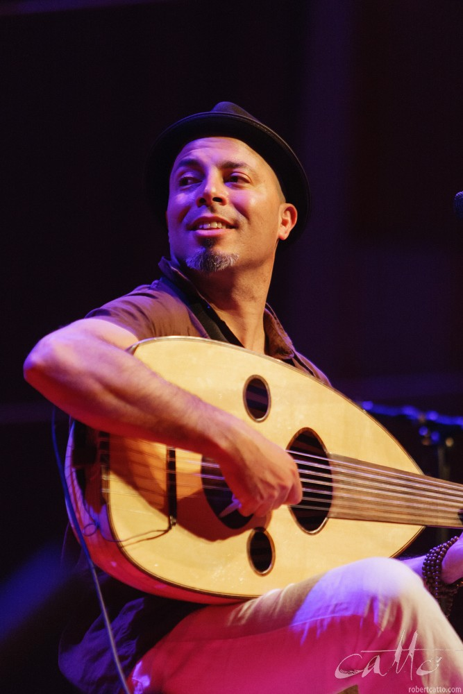 Dhafer Youssef at the Wellington Jazz Festival, 2009.