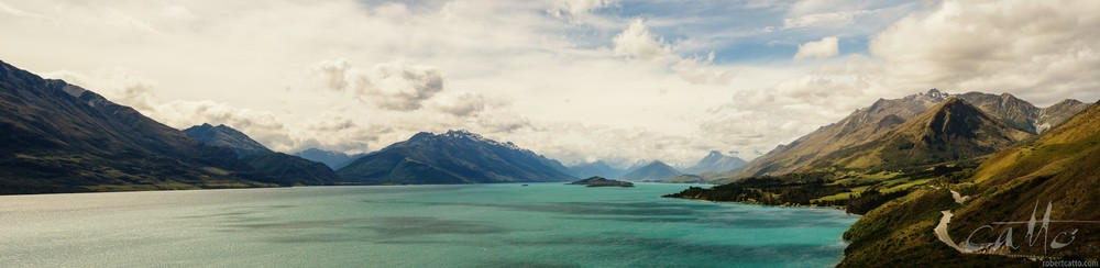The road to Glenorchy from Queenstown, New Zealand (click to embiggen)
