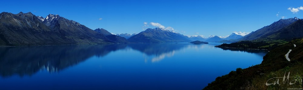 The road to Glenorchy from Queenstown, New Zealand - 3 days later  (click to embiggen)