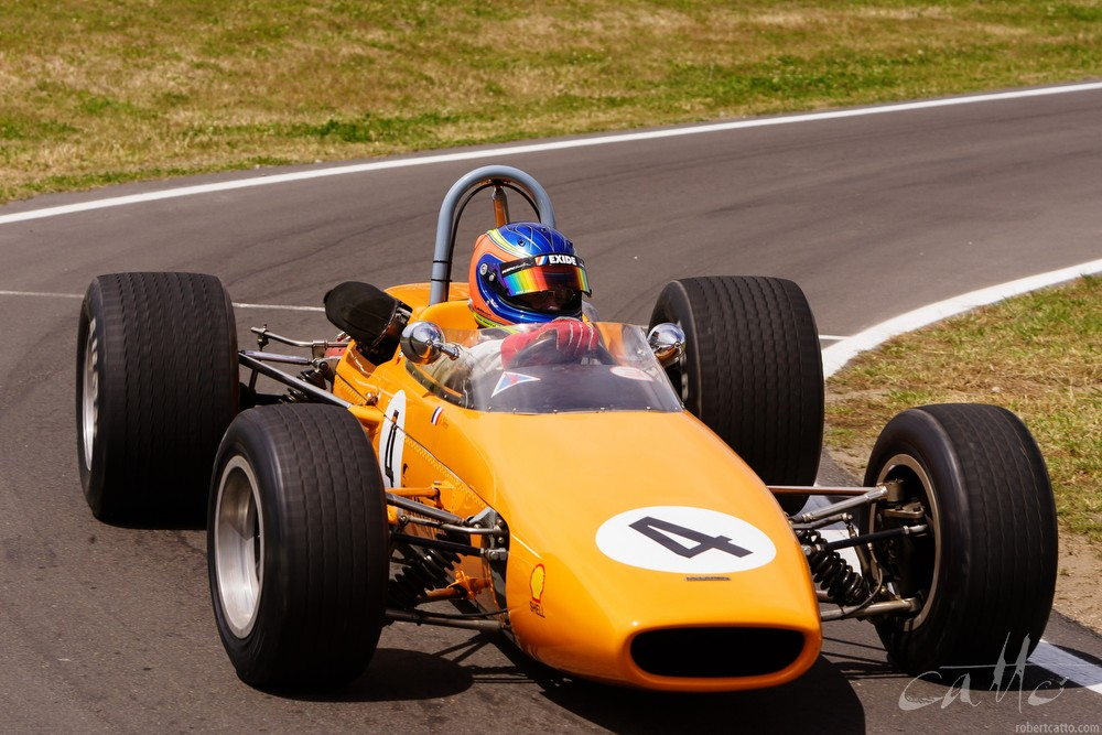 1967 McLaren M4A demonstration run