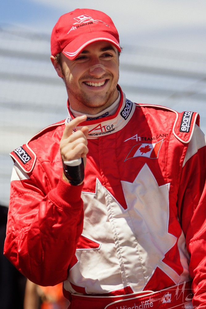 Canadian driver James Hinchcliffe