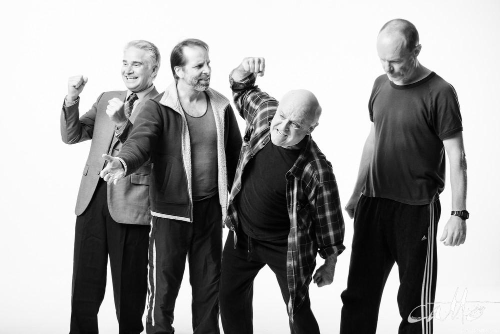 Noel Hodda, Jamie Oxenbould, Danny Adcock and Richard Sydenham