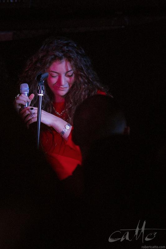 Lorde at Sydney's GoodGod Club, May 2013