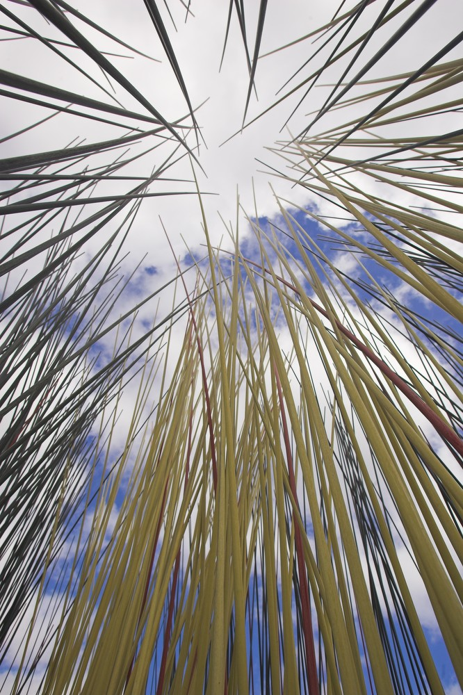 Pacific Grass Sculpture