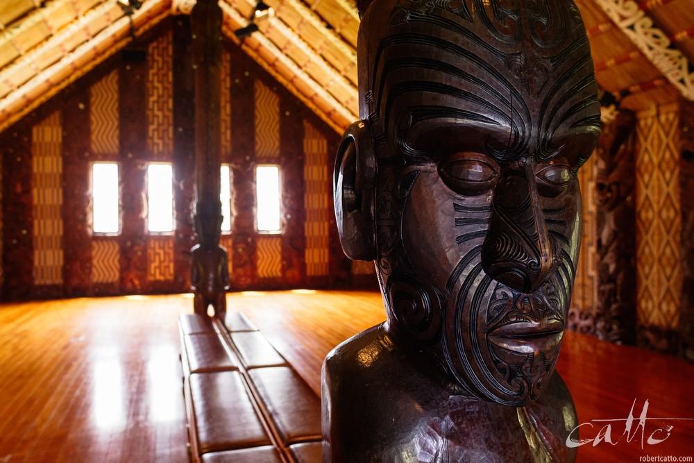 Te Whare Runanga at Waitangi, New Zealand, 2006