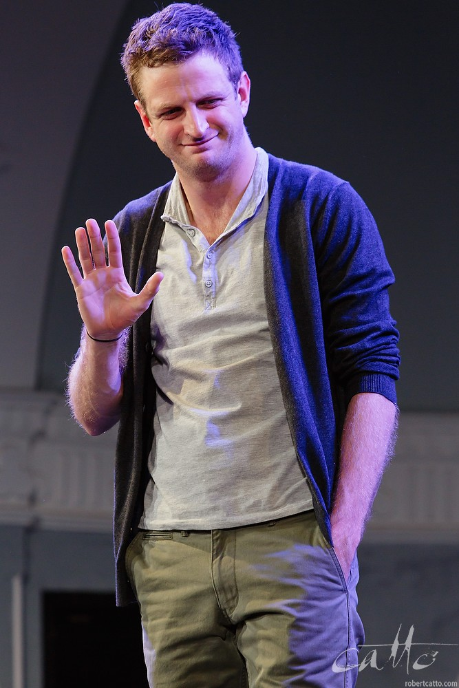 Aaron Glenane in Fourplay at the Darlinghurst Theatre Company, Sydney.