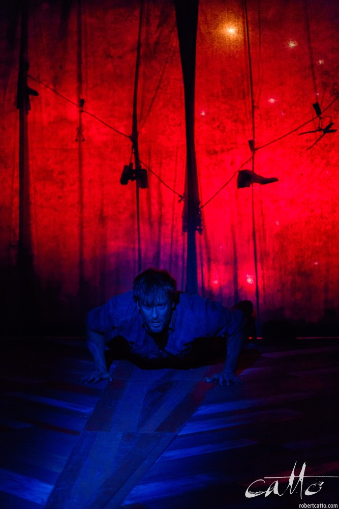 Grant Cartwright in Thomas Murray and the Upside Down River, at Griffin Theatre.