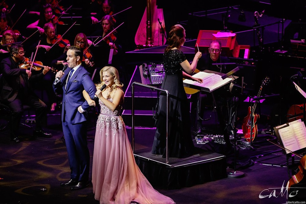 Ben Lewis and Lucy Durack